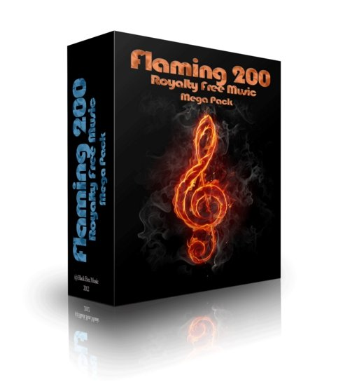 Product picture Flaming200 Royalty Free Music Mega Pack