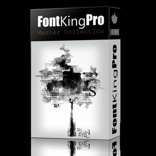 Product picture Fontking Pro 7000 Premium Fonts